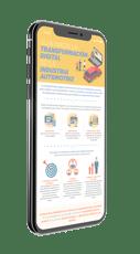 Transformación digital :Pieza clave en el plan de negocios para  la industria automotriz
