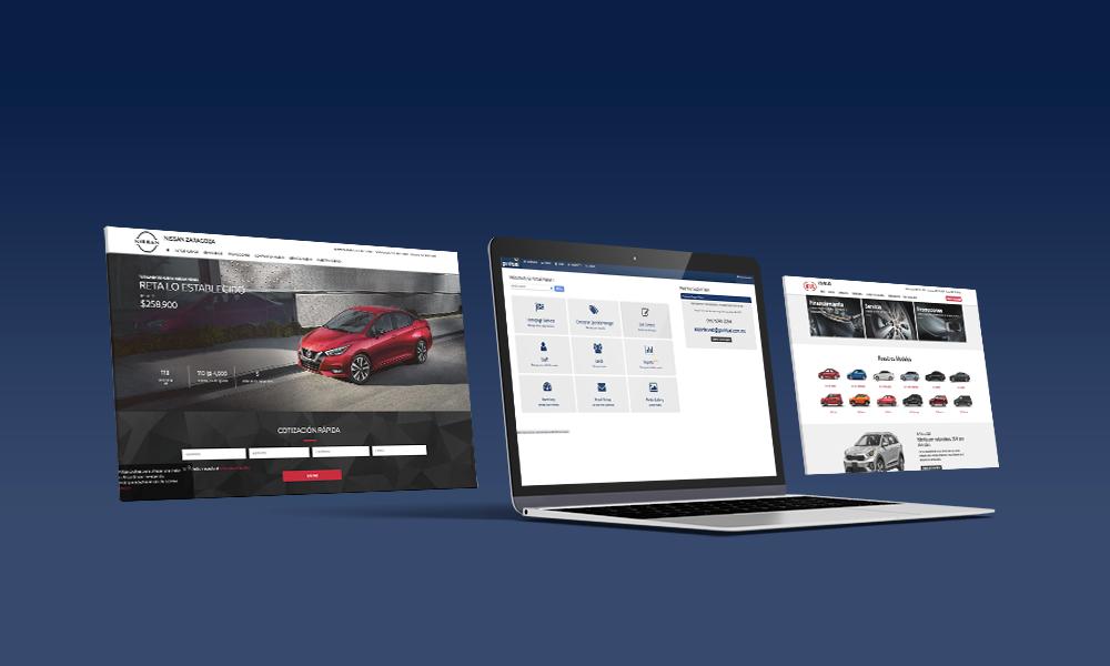 sitios web imagen - cms
