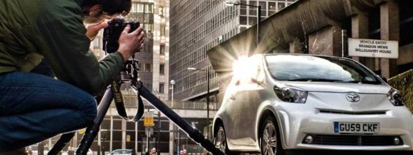 Guía para conseguir las mejores fotografías de tus vehículos