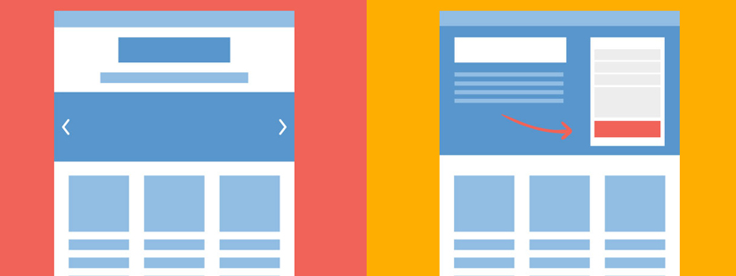 4 diferencias entre un sitio web automotriz y una landing page