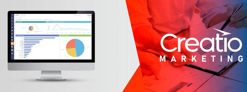 ¿Cómo funciona CRM Marketing de Creatio?