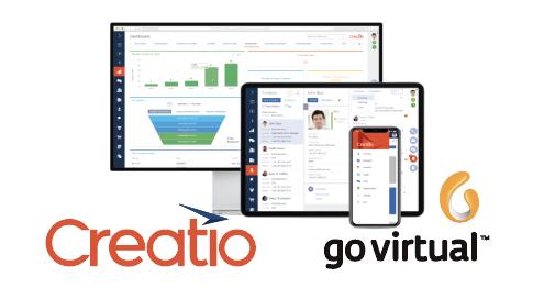 Creatio y Go Virtual se asocian para empoderar las operaciones de sus clientes con la plataforma inteligente de bajo código que gestiona procesos de negocio y CRM