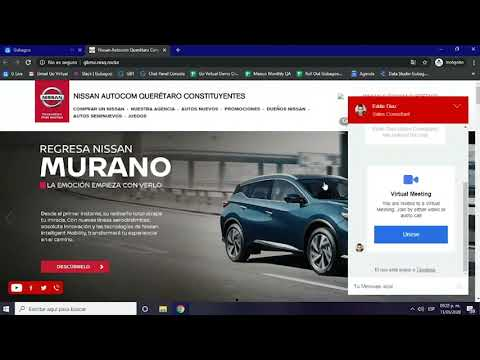 Demo de Gubagoo Virtual Meetings
